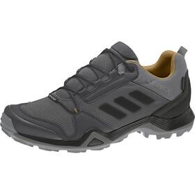 adidas TERREX AX3 Gore-Tex Hiking Shoes Waterproof Men, grey five/core black/mesa